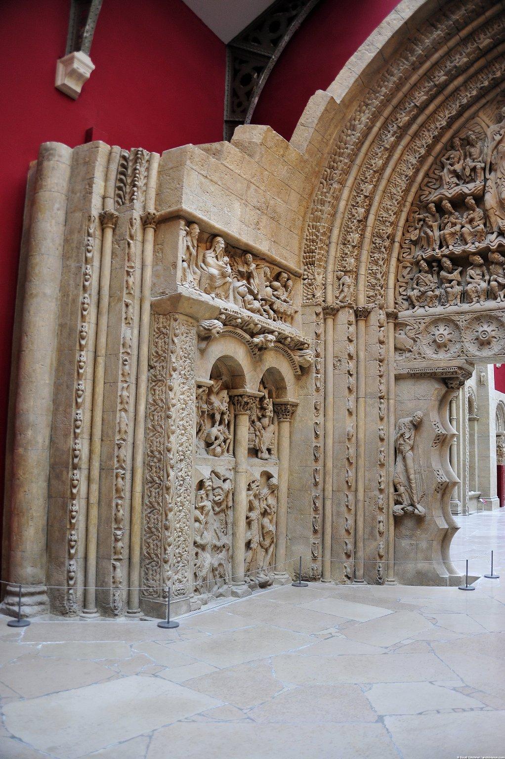 South Portal of Saint-Pierre, Moissac [plaster cast]