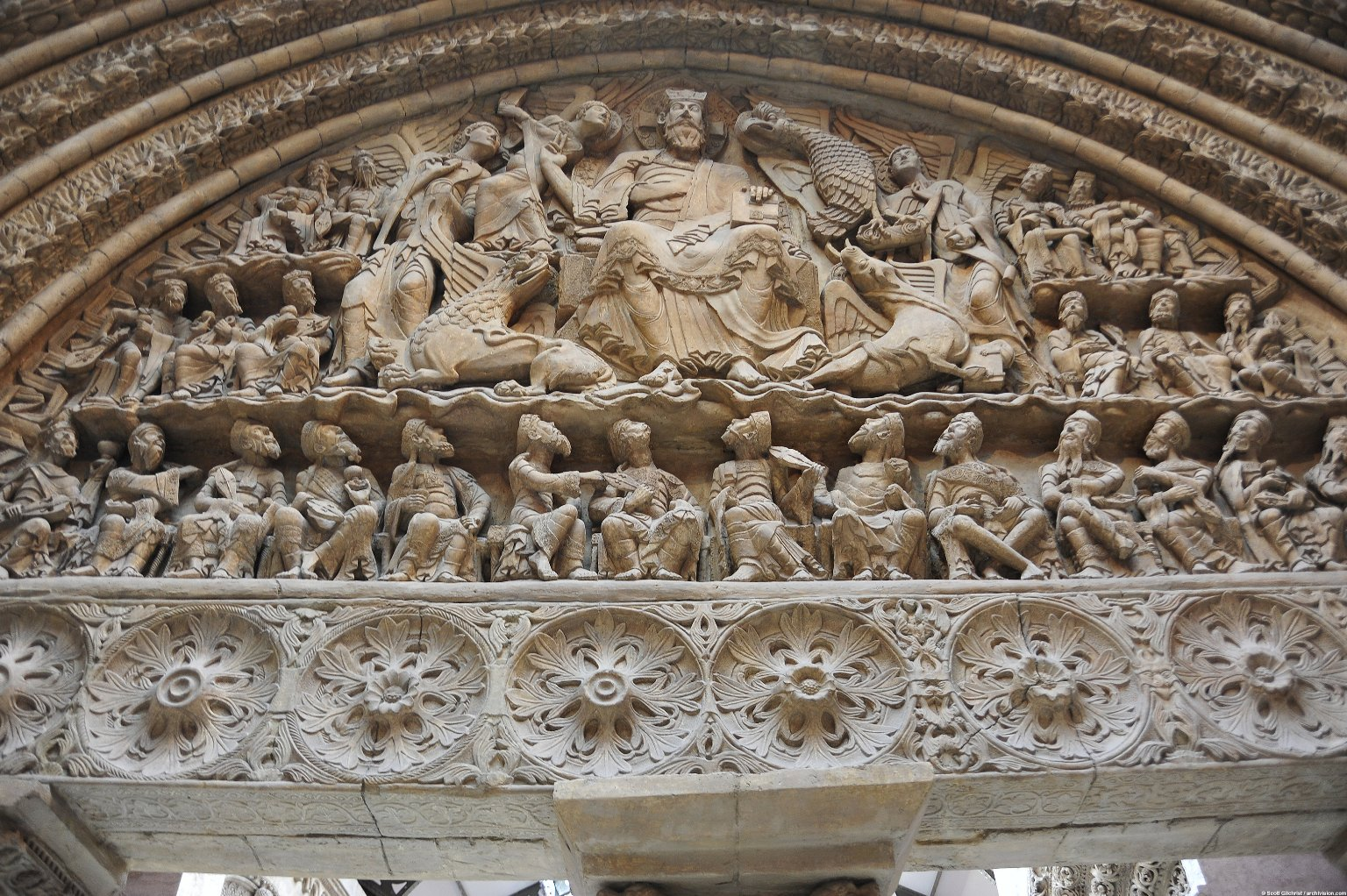 South Portal of Saint-Pierre, Moissac [plaster cast]