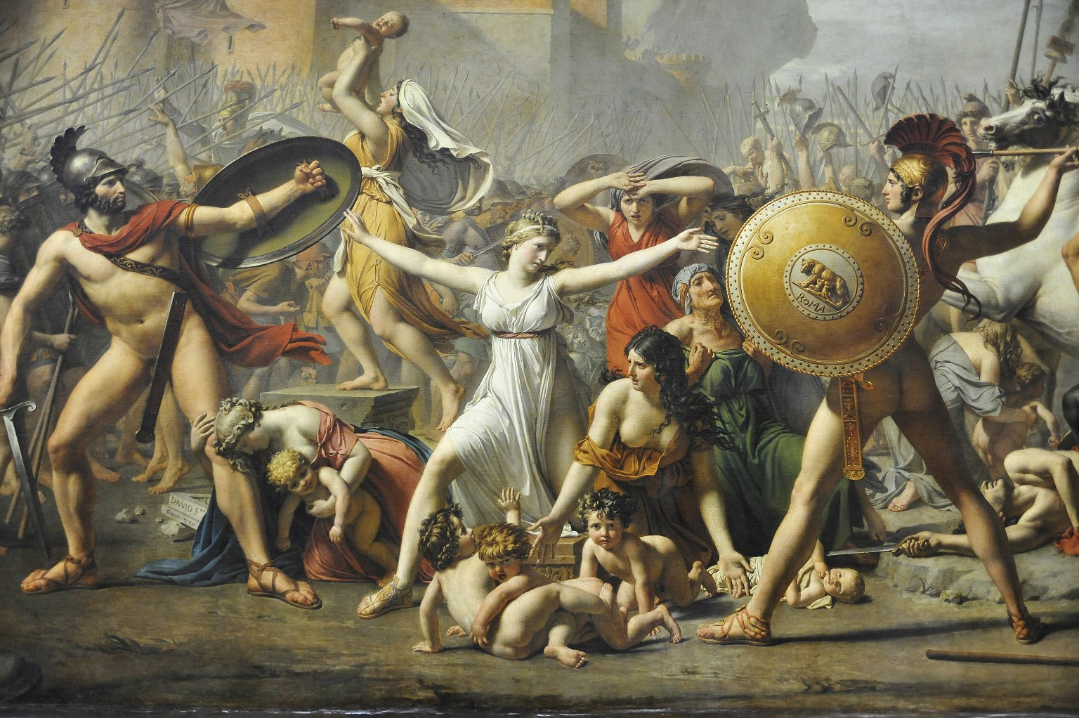 Intervention of the Sabine Women
