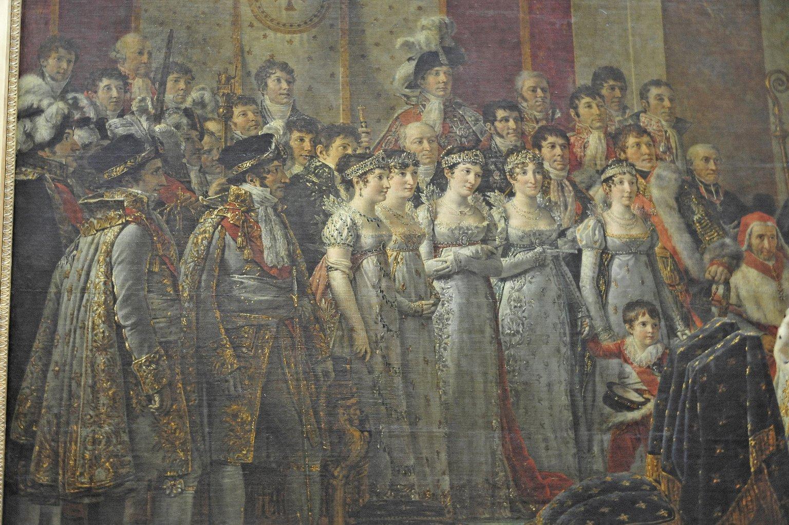 Coronation of Napoleon in Notre-Dame