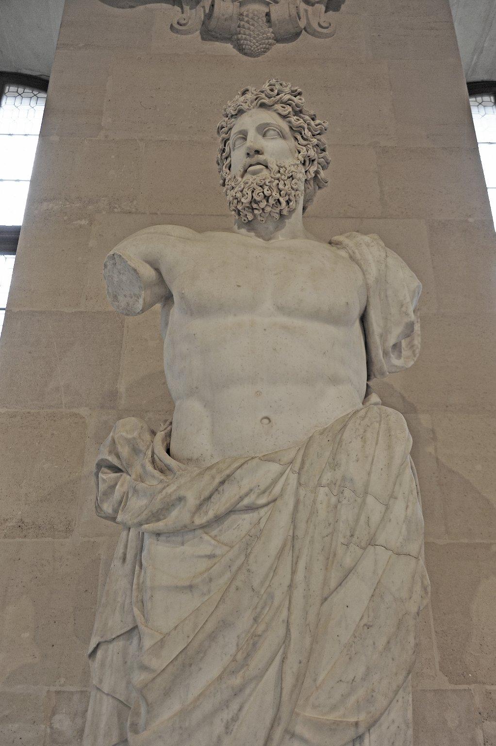 Bearded Divinity called 'Jupiter of Versailles'